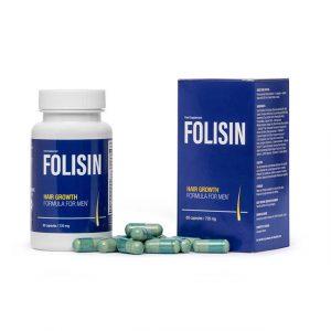 folisin - porost włosów tabletki