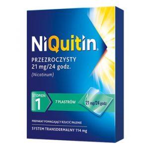 plastry antynikotynowe Niquitin