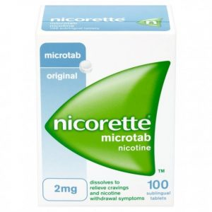 nicorette microtab pastylki podjęzykowe