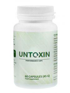 untoxin suplement diety na oczyszczanie organizmu