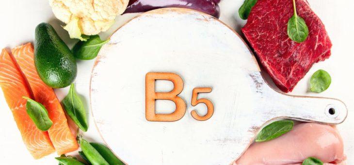 Witamina B5 – działanie na trądzik