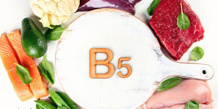 witamina b5 trądzik