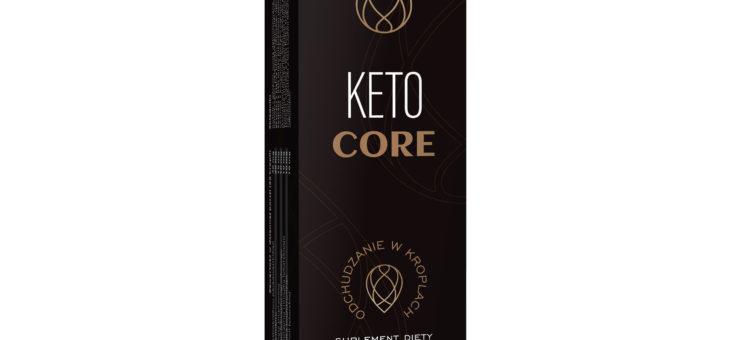 Keto Core – krople na odchudzanie