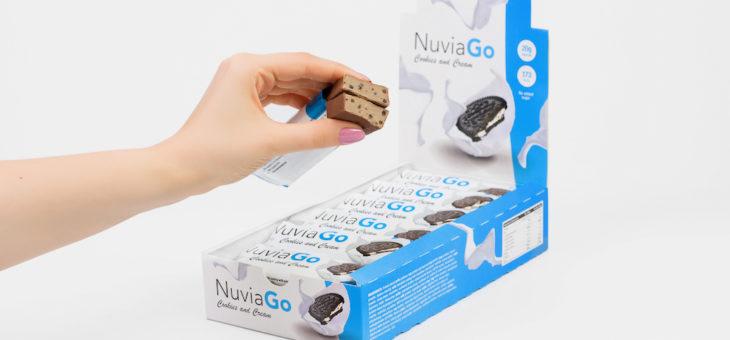 Batony proteinowe NuviaGo – opinie, cena, smak