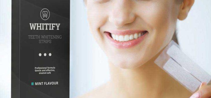 Whitify Strips – paski wybielające zęby – opinie, cena, efekty